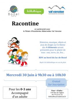 page racontine